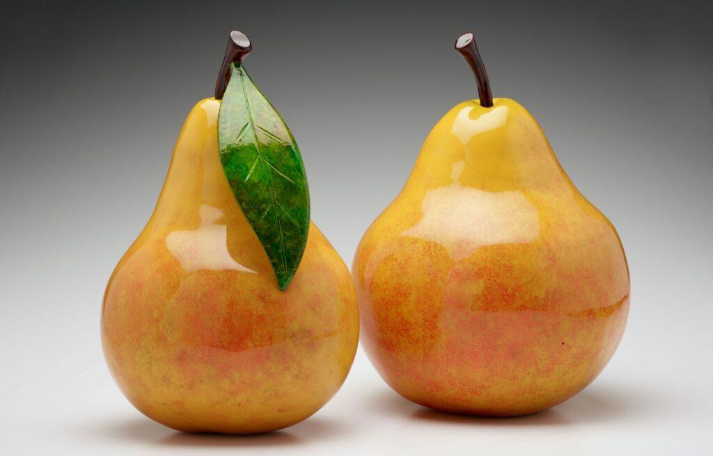 Blushing Pair of Pears