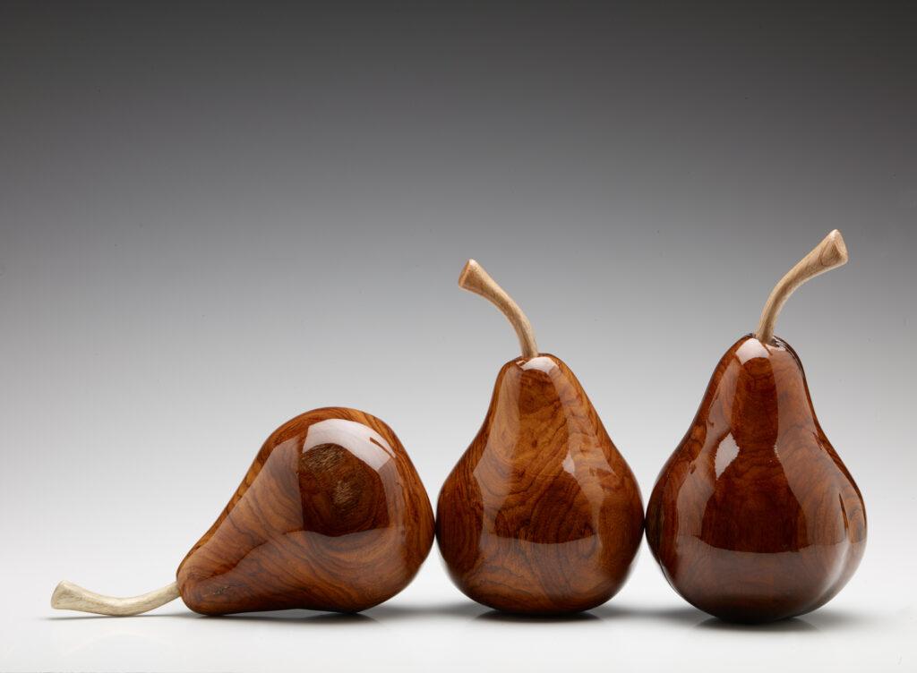 Brazilian Rosewood Pears