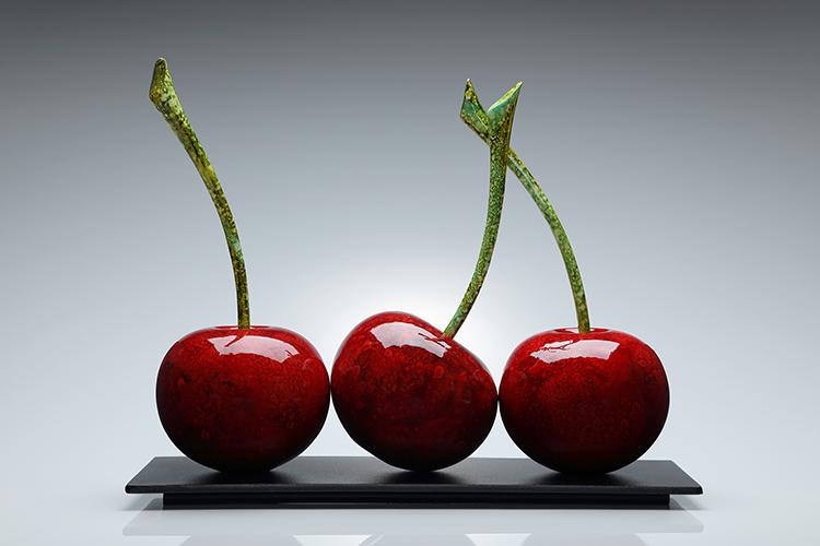 Triple Red Cherries