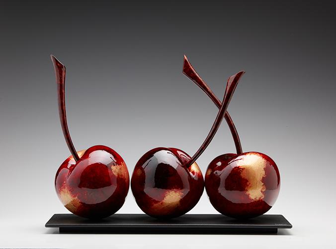Golden Blacken Cherries